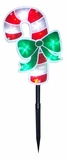 "18"" Candy Cane Stake - Set of 3 by Alpine Corp"