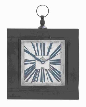 """18"""" H Metal Wall Clock for Modern and Conventional Decor Brand Woodland"""