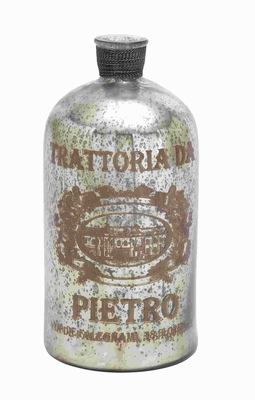 """18""""H Petite and Attractive Glass Bottle with A Protective Layer Brand Woodland"""