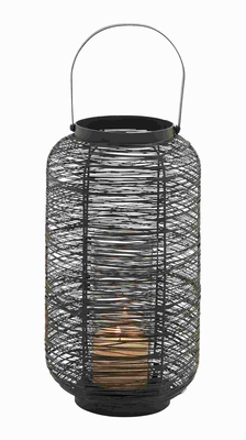 "19"" H Metal Lantern Complements Traditional and Modern Decor Brand Woodland"