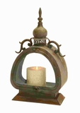 "19""H Metal Lantern with Exquisite Detailing and Elegant Styling Brand Woodland"
