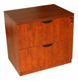 2-Drawer Lateral File, Cherry by Boss Chair