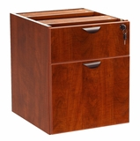 2 Hanging Pedestal - 3/4 Box/File , Cherry by Boss Chair