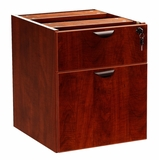 2 Hanging Pedestal - 3/4 Box/File , Mahogany by Boss Chair