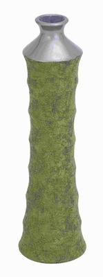 "20""H Ceramic Vase in Tall Structure Sports and Stylish Curve Brand Woodland"