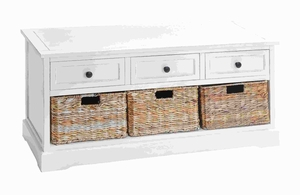 """20""""H Unique Wood Basket Cabinet Crafted with Fine Detailing Brand Woodland"""