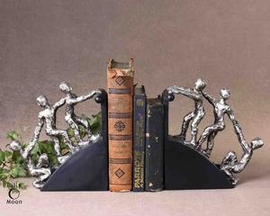 20494 Helping Hand Bookends Set/2: Utility Decor With Message Brand Uttermost