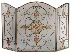 20508  Egan Fireplace Screen: Just A Look Is Enough To End Your Search Brand Uttermost