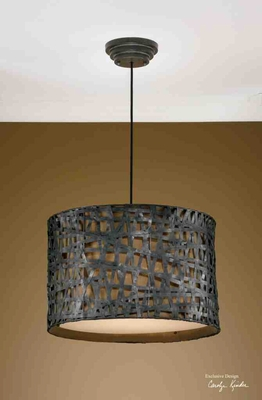 21104 Alita Metal Hanging Shade: Makes Special Light Pattern Brand Uttermost