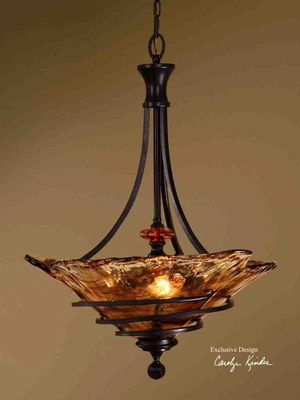 21904 Vitalia 3 Lt Pendant: Modern Art Of Lighting Brand Uttermost