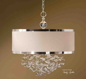 21908 Fascination 3 Lt Hanging Shade: Adds Value To Decoration Brand Uttermost