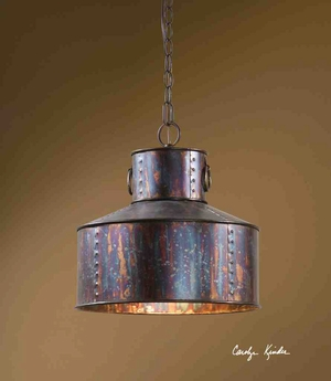 21924 Giaveno 1 Lt Pendant: Unique Pattern Of Lighting Brand Uttermost