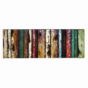 """22"""" H Classic Attractive Metal Wall Decor with Rectangular Design Brand Woodland"""