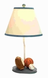 "22""H Simple Metal Table Lamp Ensures Long Lasting Performance Brand Woodland"