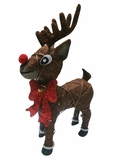 "22"" Rudolph Reindeer with 35 Halogen Lights by Alpine Corp"