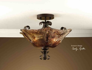 22200 Vetraio 2 Lt Semi Flush Mount: Beautiful Ceiling Decor Item Brand Uttermost