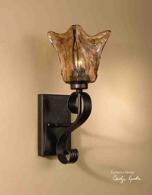 22402 Vetraio Wall Sconce: Perfect Decor For Anywhere Brand Uttermost