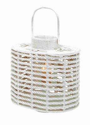 """23""""H Wood Lantern with Better Functionality and Appearance Brand Woodland"""