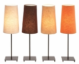 "23"" Tall Designer Normandy Metal Table Lamp Decor - Set of 4 Brand Woodland"
