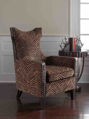 23003 Kimoni Armchair: Coordinating To Most Decoration Brand Uttermost
