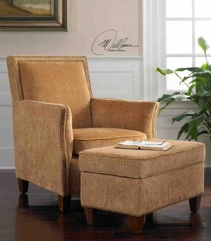 23006 Amani Armchair: Adaptable To Different Decoration Styles Brand Uttermost