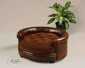 23025 Lucky Pet Bed: Reflects Your Love For Pets With Special Sense Brand Uttermost