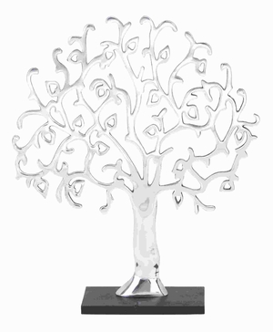 "24""H Aluminium Decor Tree Robust and Durable Construction Brand Woodland"