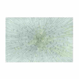 """24""""H Wood Wall Decor with Pattern of Straight, Radiating Lines Brand Woodland"""