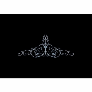 "24"" Metal Wall Decor with Fine Detailing in Bronze Finish Brand Woodland"