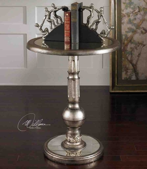 24003 Baina Accent Table: Unique Example Of Metal Craft Brand Uttermost