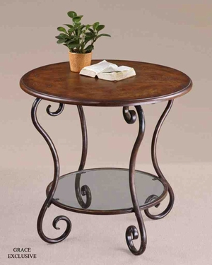 24111 Felicienne Accent Table: Sturdy And Elegant Brand Uttermost