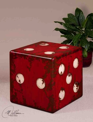 24168 Dice Accent Table: Rare To See New Concept Of Furnishing Brand Uttermost