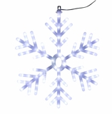 "25"" Hanging Snowflake Decor by Alpine Corp"