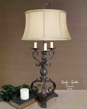 26916 Hope Table Lamp: A Decorative Sculpture Brand Uttermost