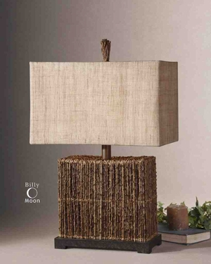 27994-1 Barbuda Table Lamp: Low Cost Decor-Utility Item Brand Uttermost