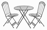 "28"" H Traditional and Modern Decor metal Bistro (Set of 3) Brand Woodland"