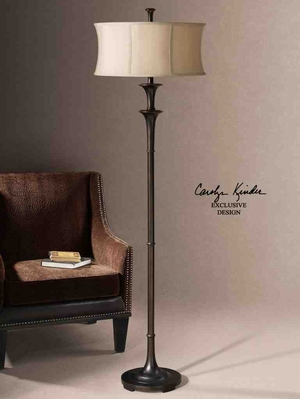 28229-1 Brazoria Floor Lamp: Perfect Feminine Beauty Brand Uttermost