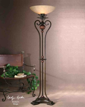 28842-1 Andra Torchier Floor Lamp: Excellent Addition To Any Room Brand Uttermost