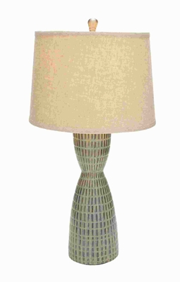 "29"" H Attractive Classic Sturdy Decorative Ceramic Table Lamp Brand Woodland"