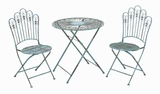 "29""H Metal Bistro Modern or Conventional Style (Set of 3) Brand Woodland"