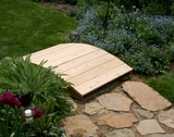 3' Cedar Plank Bridge by Creekvine Design