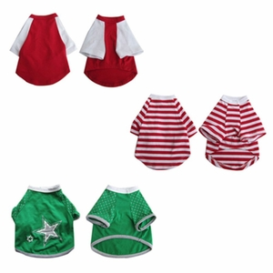 3 Pack Pretty Pet Apparel with Sleeves - Small