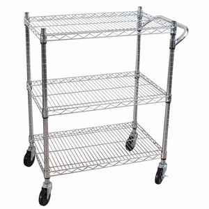 3 Tier Heavy Duty All-Purpose Utility Cart by Oceanstar