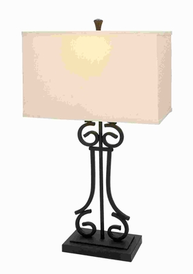 "30"" H Attractive Metal Table Lamp Blends Well with Any Setting Brand Woodland"