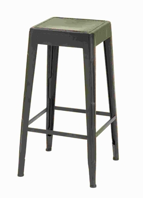 "30""H Metal Bar Stool with a Smooth Brown Finish and Smooth Edges Brand Woodland"