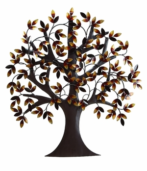"31"" Classic Metal Tree of Life Wall Art Decor Sculpture Brand Woodland"