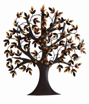 Metal Tree Wall Decor For Elite Class Decor Enthusiasts - 13862 by Benzara