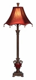 "31"" Goodnight Buffet Table Lamps with Red Shades - Set of 2 Brand Woodland"