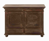"32""H Wood Cabinet with Sufficient Storage Space Inside Drawers Brand Woodland"