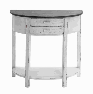 """33"""" Traditional Wood Console Table with Polished Surface Brand Woodland"""